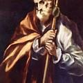 Apostle St Thaddeus Jude by El Greco