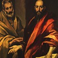 Apostles Peter And Paul 1592 by El Greco
