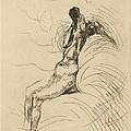 Apotheosis (l'apoth?ose) by Albert Besnard