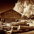 Appalachian Saw Mill by Paul W Faust - Impressions of Light