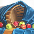Apple Basket by Arnold Hurley