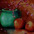 Apple Blossoms by Linda Hiller