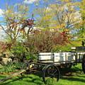 Apple Farm Cart by John Burk
