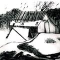 Apple Farm In Winter by Debra Lynch