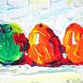 Apple First by Tatjana Krilova