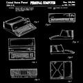 Apple Macintosh Patent 1983 Black by Bill Cannon