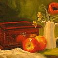 Apple Reflections by Laura Lee Zanghetti