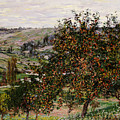 Apple Trees Near Vetheuil by Claude Monet