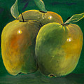 Apple Trio by Erich Grant