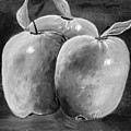 Apple Trio Two Tone by Erich Grant