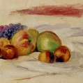 Apples And Grapes by Renoir PierreAuguste