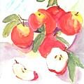 Apples by Susan Haddock