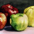 Apples by Valentina Blinkova