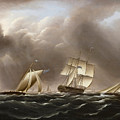 Approaching Squall by James Edward Buttersworth