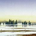 April Evening by Conrad Mieschke