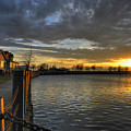 April Sunsets by Michael Frank Jr