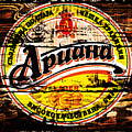Apuaha Beer Sign by Brian Reaves
