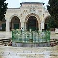 Aqsa Main Arches by Munir Alawi