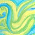 Aqua Duck  by Roy Hummel