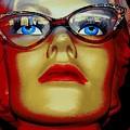 Aqua Eyed Angie by Ed Weidman
