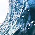 Aqua Ramp - Triptych Part 3 Of 3. by Sean Davey