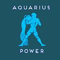 Aquarius Power by Judy Hall-Folde