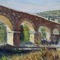 Aqueduct Near Pedraza by Elena Sokolova