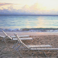 Aruba Beach Sunset by Ian  MacDonald