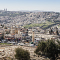Arab Israeli Neighborhood On The Outskirts Of Jerusalem by Alexandre Rotenberg