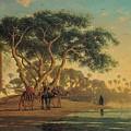 Arab Oasis by Narcisse Berchere