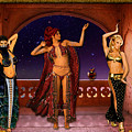 Arabic Dancers by Austin Torney