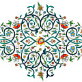 Arabic Floral Ornament by Long Shot