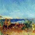 Arabs By The Sea by Renoir PierreAuguste