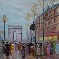 Arc De Triompfe - Lmj by Ruth Kamenev