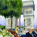 Arc De Triomphe by John D Benson