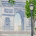 Arc De Triomphe by Monika Degan