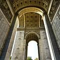Arc De Triomphe Paris by Charuhas Images