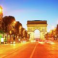 Arc De Triomphe, Paris, France by Anastasy Yarmolovich