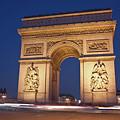 Arc De Triomphe, Paris, France by David Min