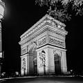 Arc De Triomphe Paris, France  by Philip Enticknap