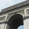 Arc De Triomphe, Paris, France by Wendy Davies