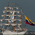 Arc Gloria Colombian Tall Ship by Dale Powell