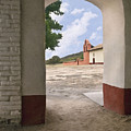 Arch At La Purisima by Sharon Foster