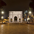 Arch At Night by Janet Fikar