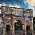 Arch Of Constantine by Inge Johnsson