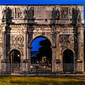 Arch Of Constantine by Marilyn Burton