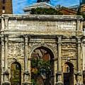 Arch Of Septimius Severus by Marilyn Burton