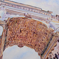 Arch Of Titus One by Jenny Armitage