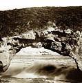 Arch Rock, Santa Cruz, California Circa 1900 by California Views Archives Mr Pat Hathaway Archives