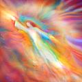 Archangel Jophiel Illuminating The Ethers by Glenyss Bourne